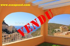 A vendre appartement benitachell Costa Blanca