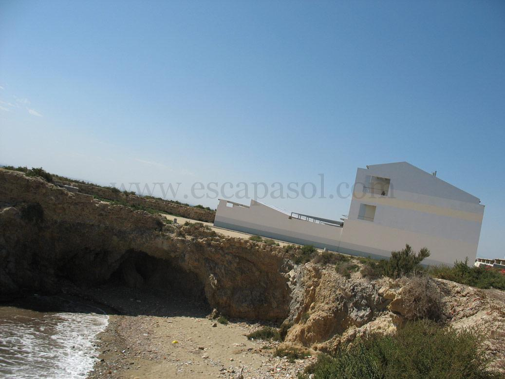 On the island of Tabarca, The Blue House, Costa Blanca.