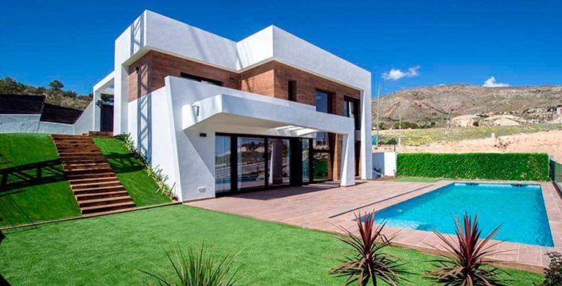 """Villa """"Ver"""", vista panorámica, Finestrat, Costa Blanca"""