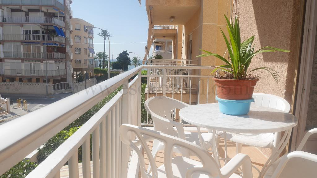 Beachfront Apartment, Santa Pola, Alicante