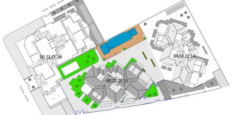 General plan with common areas