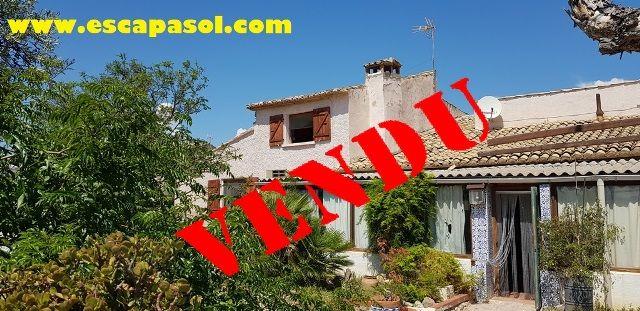 Maison ancienne Alicante Espagne