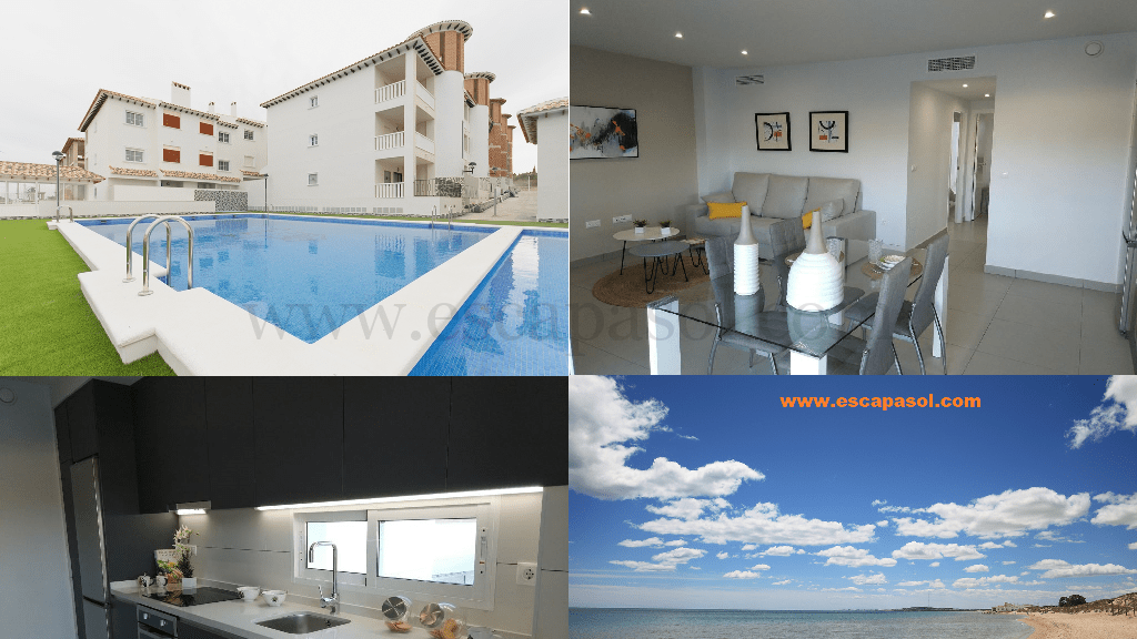 Apartment am Strand, Costa Blanca, Spanien