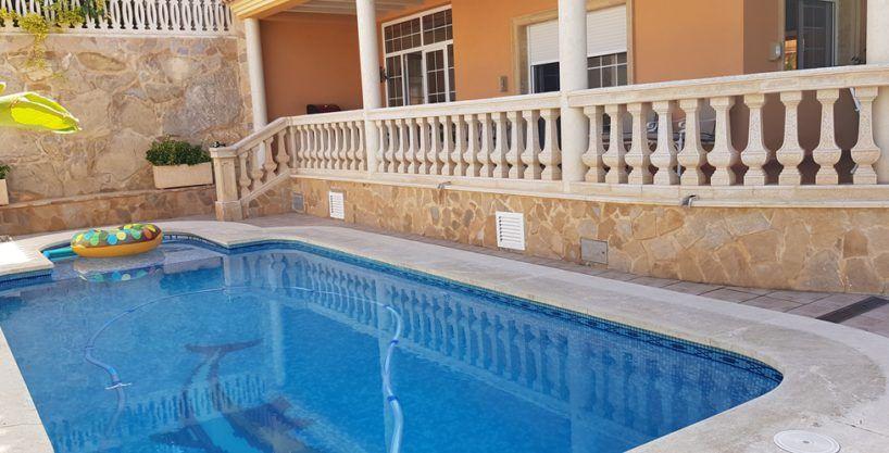 Villa vue sur la mer Coveta-Campello à Alicante