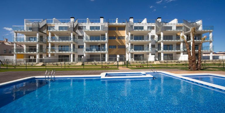 appartement-bord-de-plage et golf-à-alicante