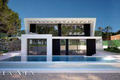 maison moderne à vendre à calpe en espagne