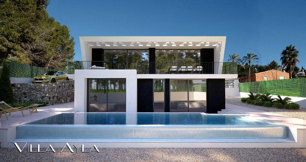 Villa exclusive moderne à Calpe sur la Costa Blanca