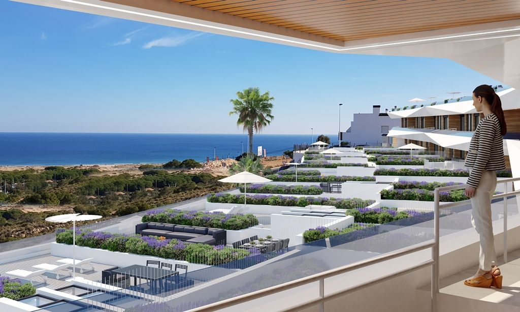 Apartment with an exceptional view of the sea Gran Alacant Alicante